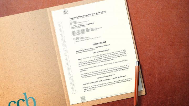 BEPI Ley segunda oportunidad ccb abogados